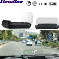 Liandlee For New OBD Car Speed Projector HUD Head Up Display Digital Speedometer OBD2 Diagnostic Tool High light Clarity
