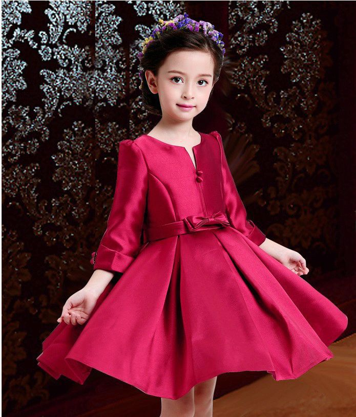 Elegant Girl Dress Girls 2015 Fashion Christmas Gift Lace