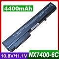 Batería para hp compaq business notebook 8510 p 8510 w 8710 p 8700 9400 nx7300 nx7400 nc8200 nw8200 6720 t 7400 nx8200 nx8420 nx9420