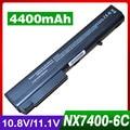 Bateria para hp compaq business notebook 8510 p 8510 w 8710 p 8700 9400 nx7300 nc8200 nw8200 nx7400 nx8420 6720 t 7400 nx8200 nx9420