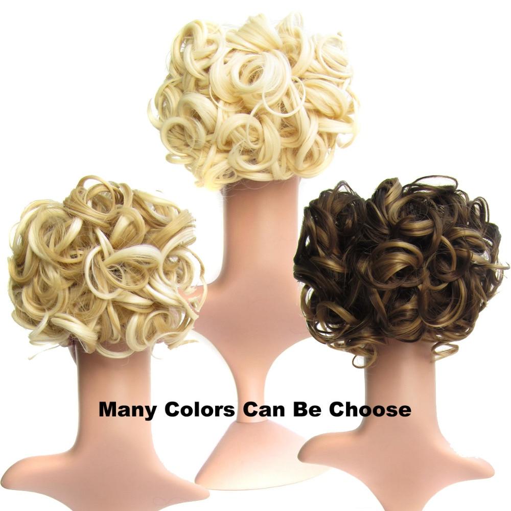DELICE Σύντομη σγουρή συνθετική ξανθιά - Συνθετικά μαλλιά - Φωτογραφία 5