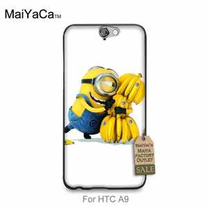 MaiYaCa Printing Drawing Phone Cover For Case HTC One A9 Minion Banana Cute Anime