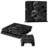 Ps4 Skin Skull New Style Skin Sticker For Play Station 4 For Playstation 4 PS4 Console