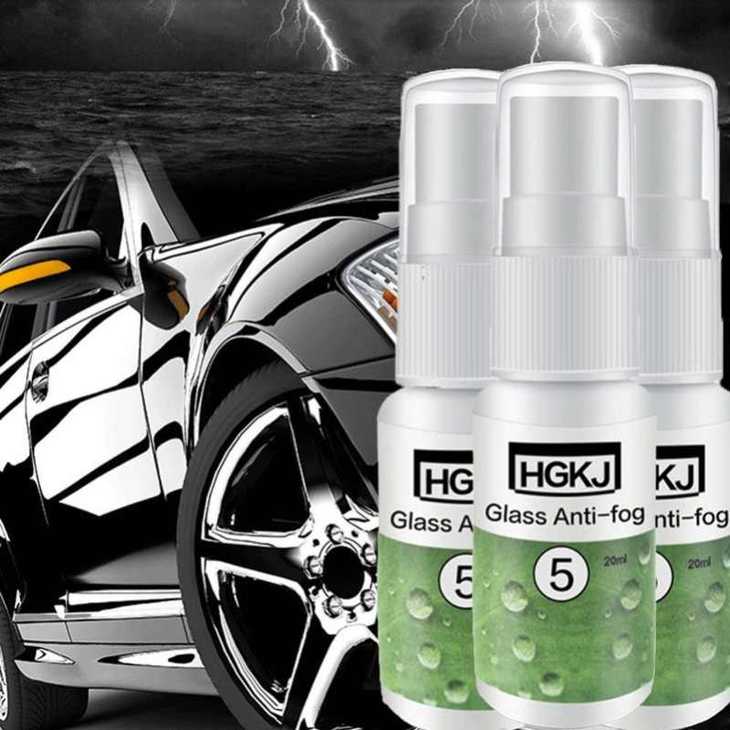 2PC HGKJ-5-20ml Automotive Glas Anti-fog Middel Dropshipping 2-3 Maanden Durende Super Hydrofobe Auto Anti- regen Middel TSLM1