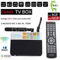 CSA93 Android 6.0 TV Box 3 GB/32 GB Amlogic S912 Octa Core Inteligente Mini PC 2.4G/5.8G Wifi Bluetooth 4 K TVbox KODI 17.0 Unidades Superior caja