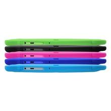 """Yuntab 7 """"Almohadilla de doble Cámara Q88 Allwinner A33 Quad Core 1.5 GHz tablet PC 8 GB de Doble cámara wifi agregar Funda de Silicona"""