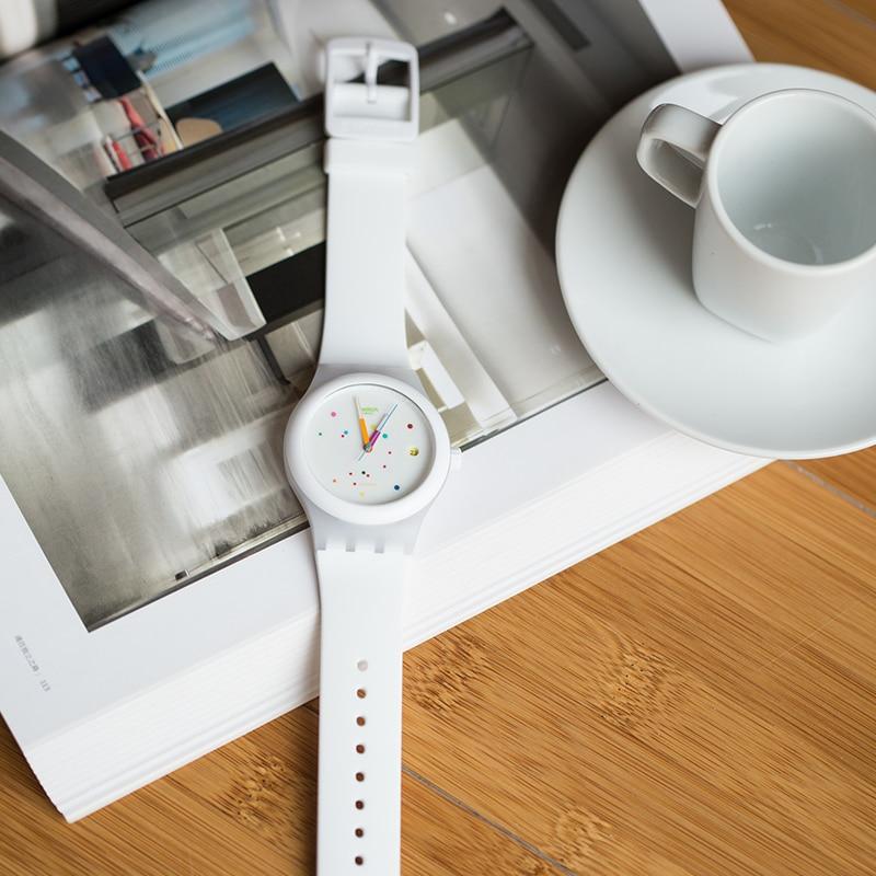 Swatch Watch Planetary mechanical couple table device 51 white SUTW400 цена и фото