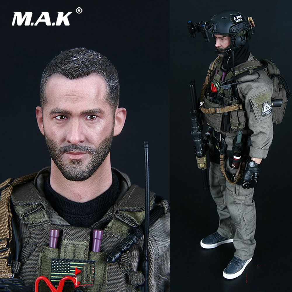 MMS900 1/6 Scale Collectible Full Set New US NAVY SEAL UNDERWAY BOARDING UNIT3 Action Figure Model for Fans Collection Gifts