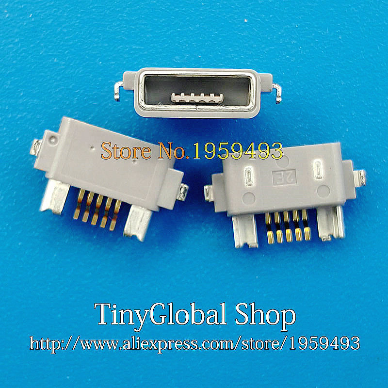 2pcs/lot Coopart New USB Charger Connector Dock Port Plug For Sony Xperia V LT25 LT25i Acro S LT26W