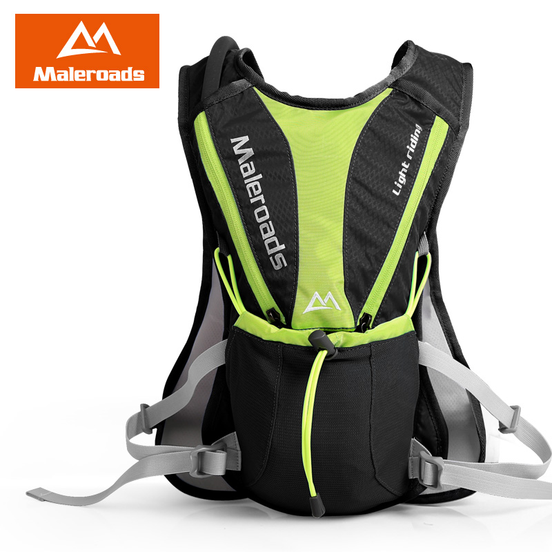 Maleroads 5L Cycling Backpack Cross-country Running bag Ultralight Outdoor Sports Hiking Travel Hydration mini Bicycle Backpacks
