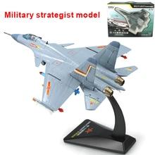 Lega aereo portaerei Cinese shark volare aerei militari fighter modello di aereo giocattoli del capretto 1: 72 aircraft
