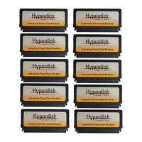 10pcs/Lot HyperDisk SSD DOM Industrial IDE 2GB/4GB/8GB/16GB/32GB/64GB Flash Memory IDE 40 Pin DOM SSD MLC Disk On Module 40 Pins