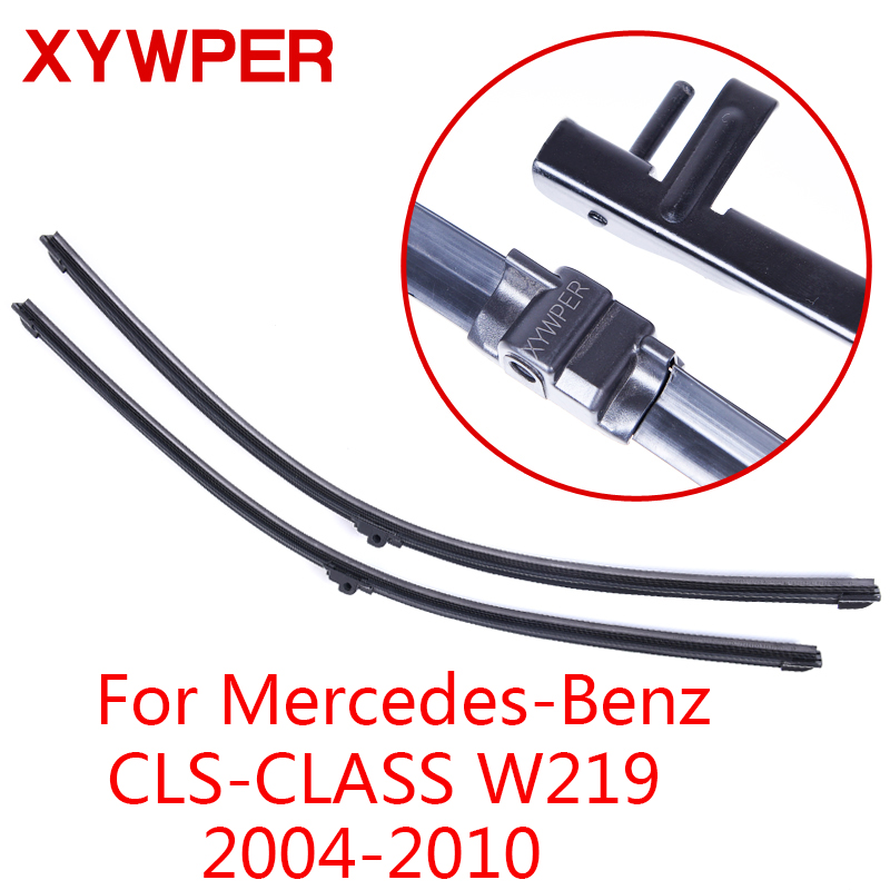 XYWPER Wiper Blades for Mercedes-Benz CLS-CLASS W219 2004 2005 2006 2007-2010 Car Accessories Soft Rubber Windshield Wipers image