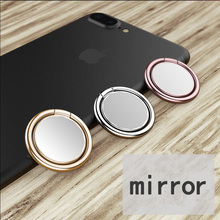 Magnetic Finger Marble Stand Holder ring For Apple Mirror airpod iPhone se X 8 7 plus 6 mob
