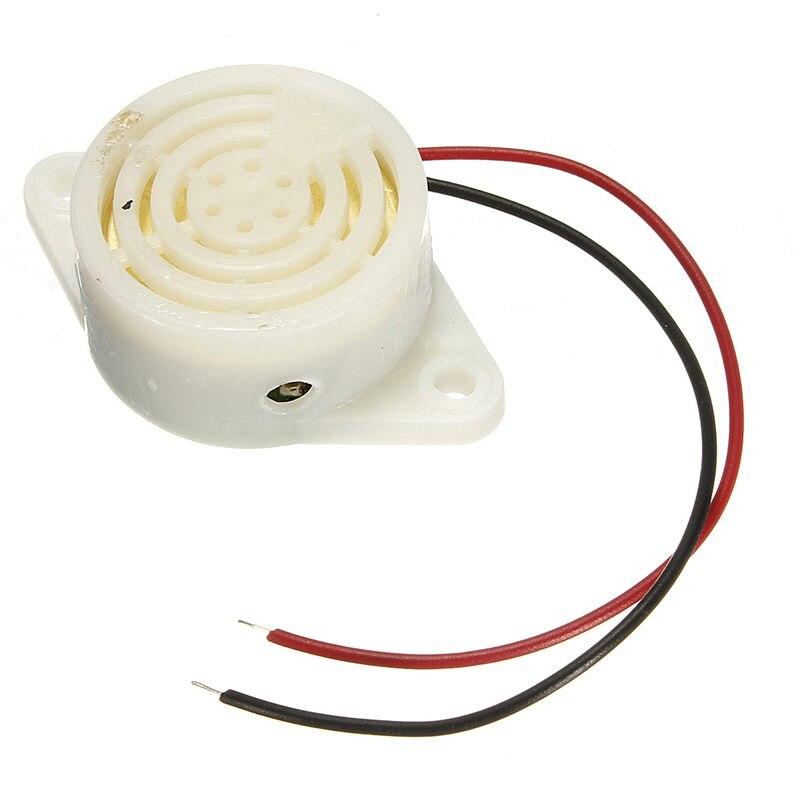 Best Promotion 10Pcs/lot 95DB Alarm For Arduino High-decibel DC 3-24V 12V Electronic Buzzer Continuous Beep