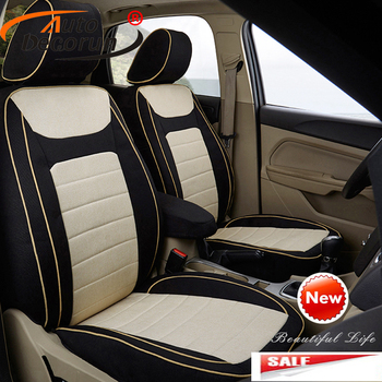 AutoDecorun Custom Seat Cushion for Volvo s80 2007 Seat Covers Set Car Protector Supports Automobiles Cover Interior Accessories