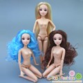 Doll body 12 Moveable Joints doll and head diy accessory for barbie doll girl present gift toys for girl