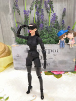 16cm DC Catwoman Medicom Toy MAFEX 050 Selina Kyle Figure Toy Collection Model Brinquedos Figurals Gift