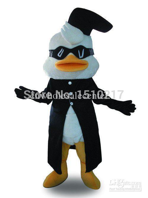 Nuovo Stile Di Modo Super Cool Black Duck Halloween Vestito Operato Del Costume Della Mascotte Animale Tieniti In Forma Per Tutto Il Tempo