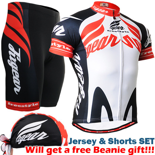 NEW Men Cycling Jersey sets Bike Bicycle Short Sleeves Jersey suits Mountain Bike Clothing Shirts Cycling Sets