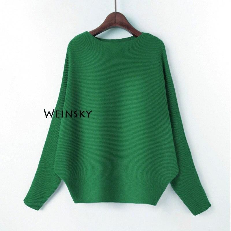 Weinsky женские вязаные свитера и пуловеры женские осенние и зимние