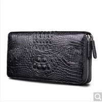 Beijue Crocodile Belly Women Clutch Bag Leather Keychain Multifunctional Mini Wallet Hand Bag Male And Female