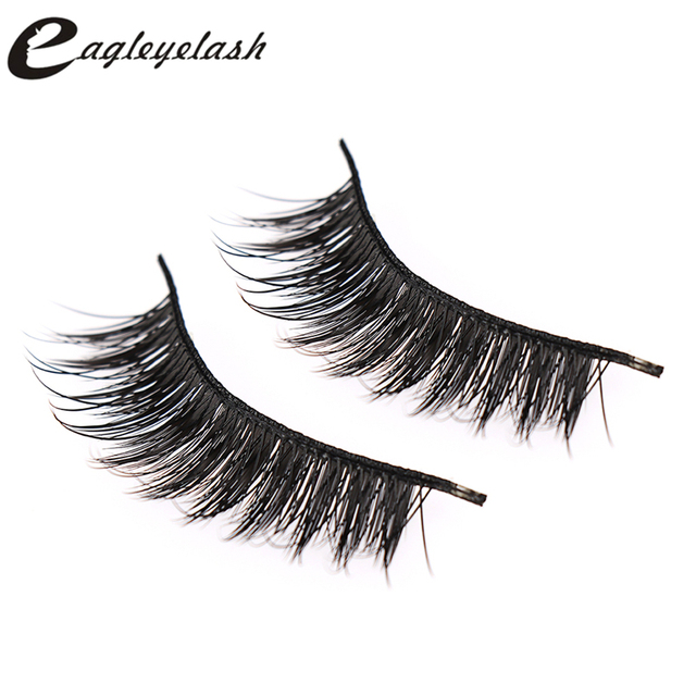 9325dc6fe68 Top sale 5 style High quality Fake Lashes 3D Cross False Eyelashes  multi-layer Lashes