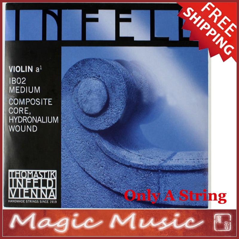Free shipping Thomastik Infeld Blue IB02 Medium Violin A String 4 4 Made in Austria Only