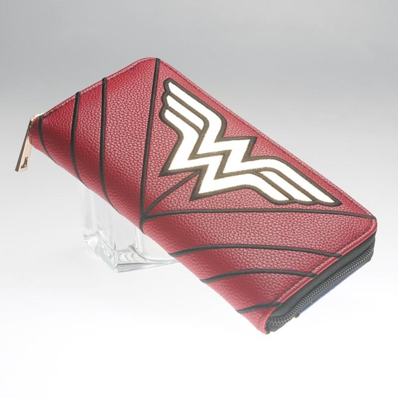Wonder Woman Wallet  Zip Around  Women Purse DFT-1990