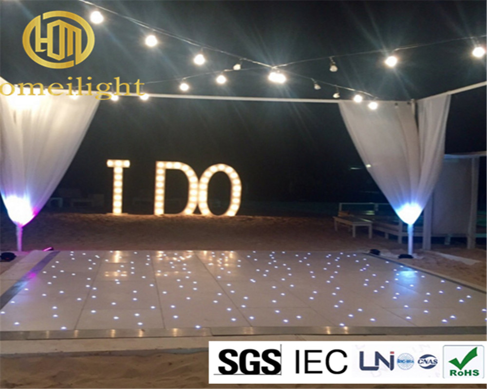 Ft led starlit dance floor disco luci da pavimento per la