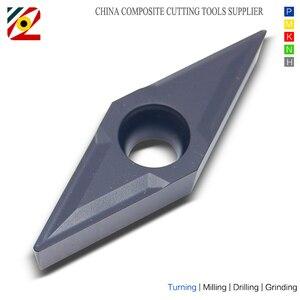 Image 2 - EDGEV 10pcs CNC Draaibank Cutter Carbide Inserts VBMT160404 VBMT160408 VBMT331 VBMT Wolfraam Draaien Gereedschap Staal P type