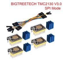 BIGTREETECH TMC2130 V3.0 SPI Stepper Motor Driver 3D Printer Parts TMC2208 SKR V1.3 Reprap MKS GEN L Ramps 1.4 Board A4988