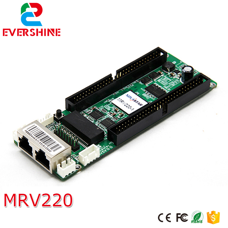 Novastar MRV220 1 LED receiving card MRV220 RGB LED display synchronous receiving card