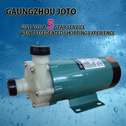 лучшая цена MP-15R Marine Chemical Magnet Driven Pump Acid Resistant Plastic Pump Circulating Pump For Water Treatment Pollution control