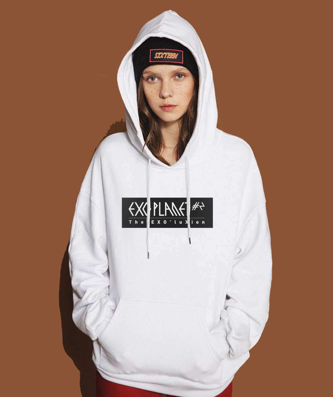 Hot Sale Hoodies For Women Sweatshirts 2017 Spring Winter Fleece Women's Sportswear Female Sweatshirt EXO Star Wears Kpop Brand