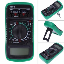 xl830l Digital Multimeter Voltmeter Ammeter AC DC OHM Volt Tester LCD Test Current Multimeter Overload Protection