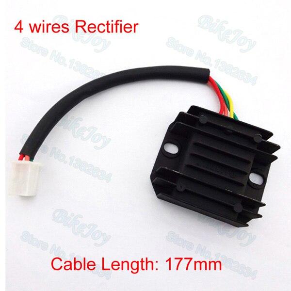 4 wires voltage regulator rectifier for gy6 150cc 200cc 250cc dirt rh aliexpress com 200Cc Quad 200Cc Chinese ATV Parts