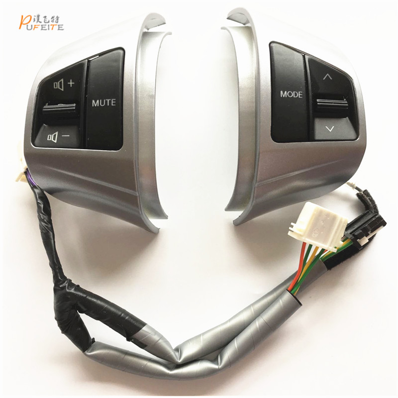 Free Shipping Multifunction Steering Wheel Remote Control Button for Hyundai Elantra