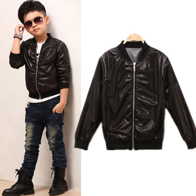 Childrens Black Jacket | Outdoor Jacket