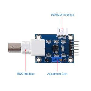 Image 2 - Sensor de ph para arduino líquido PH0 14, módulo sensor de detecção de valor + ph sonda para eletrodo bnc avr stm32 51