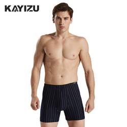 Kayizu brand men s male underwear striped boxer shorts trunks gay penis pouch sleepwear men panties.jpg 250x250