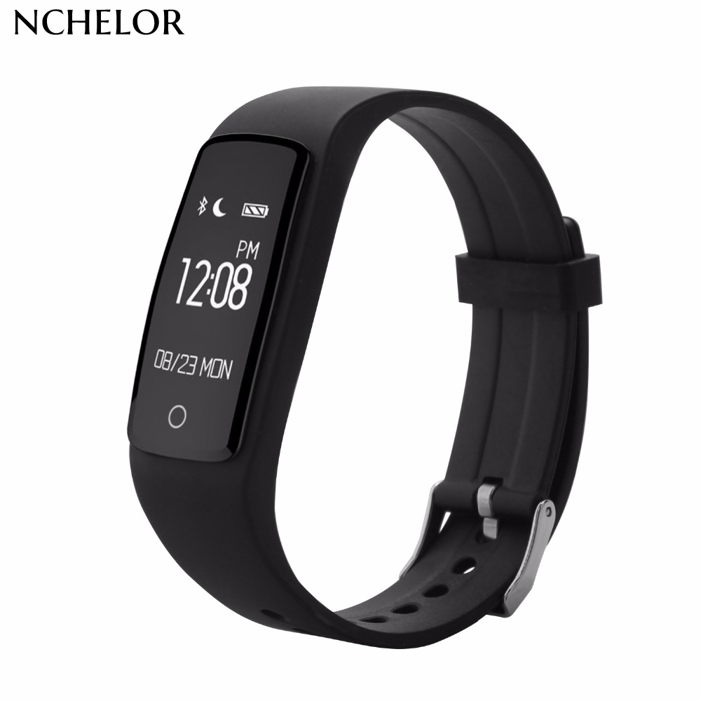 Slimme armband S1 Bluetooth 4.0 IP67 waterdichte armband met Smart - Herenhorloges