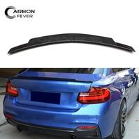 F87 M2 Carbon Fiber Trunk Spoiler For BMW F22 F23 2 Series Coupe Cabrio 2014 IN 228i 230i