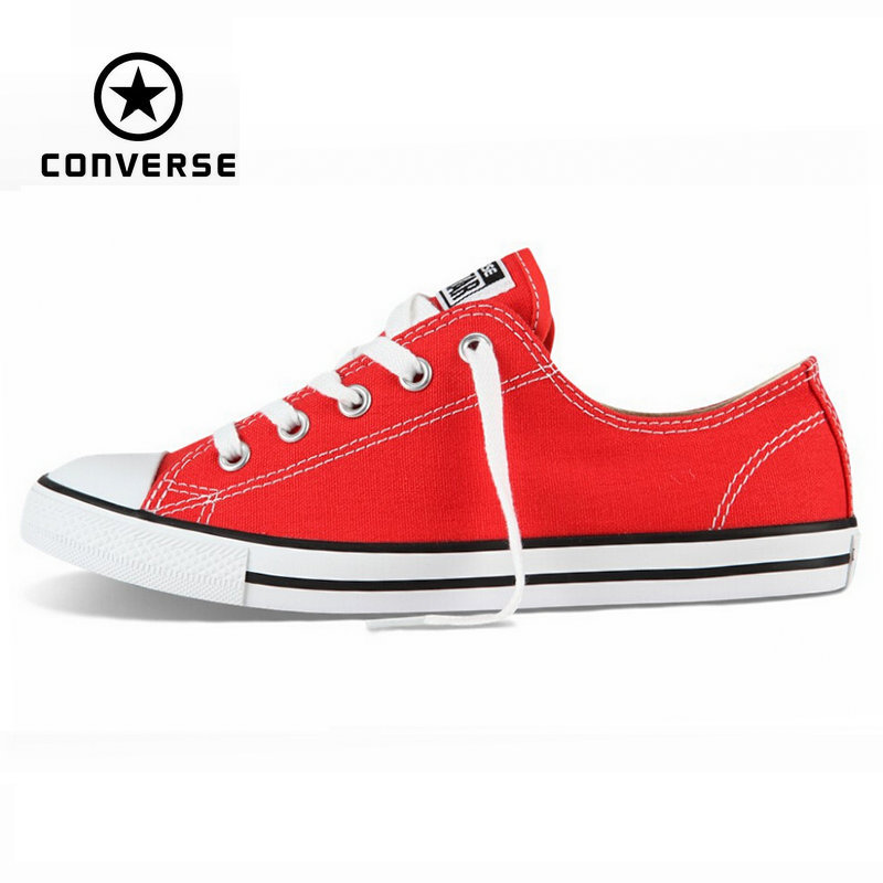 Original Converse All Star Dainty sneakers women low canvas shoes for women  Skateboarding Shoes free shipping 547155C euroschirm dainty black