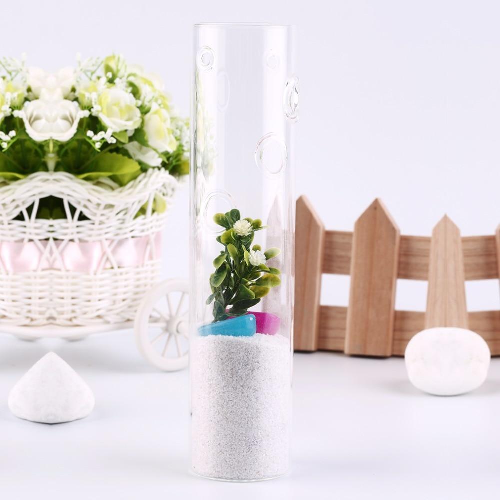 1 шт. home decor сияющий свет свадебные украшения Прозрачный Висячие стеклянной вазе моды гидропоники ваза для цветов, украшение дома
