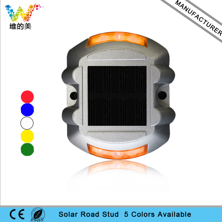 Clever Yellow Solar Powered Maintenance Free Night Sensor Self Luminous Sidewalk Commercial Area Road Stud Light Less Expensive Roadway Safety Back To Search Resultssecurity & Protection