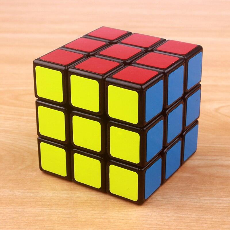 Magic cube 3x3x3 PVC Sticker Block Puzzle Speed Colorful Puzzle Cubo Magico Toys -m1