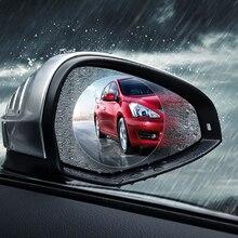 2pcs New 2018 Car Universal Rearview Mirror Rainproof Anti-fog Auto Dimming Nano screen protector Film Anti-dazzling waterproof
