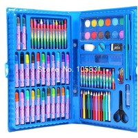 Children Early Education Stationery Combination Set Crayons Water Color Pens Pressed Powder Painting Supplies