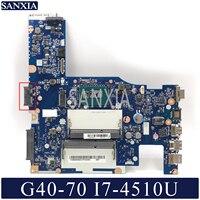 Kefu NM-A272 placa-mãe do portátil para lenovo G40-70 original placa-mãe I7-4500U